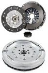 SACHS DUAL MASS FLYWHEEL DMF & COMPLETE CLUTCH KIT SEAT ALTEA 5P1 2004-2014
